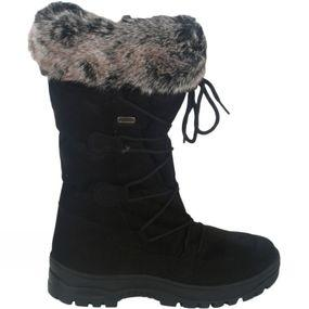 Women's Fur Trim Traction Boot